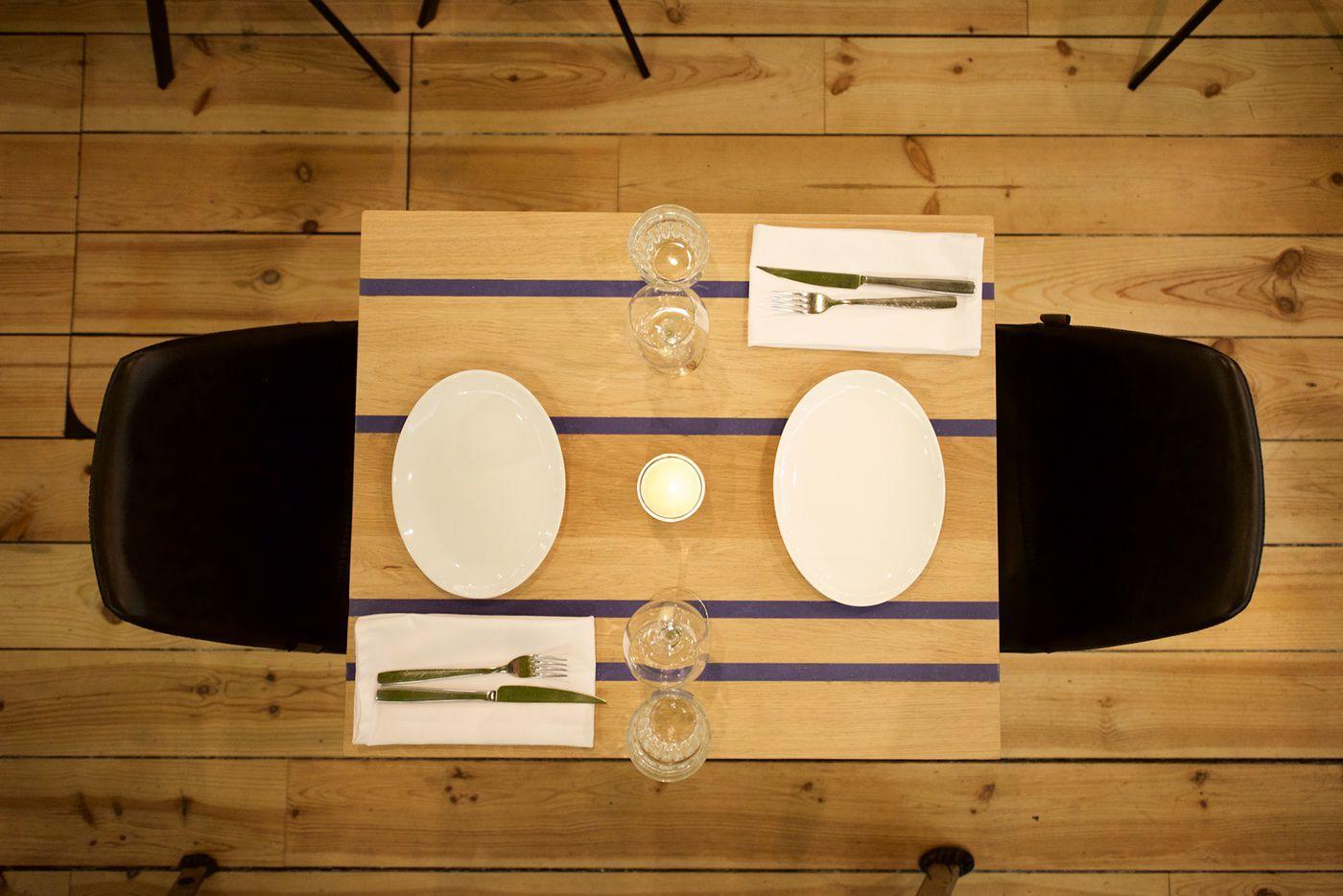 Restaurant Floreyn interior view